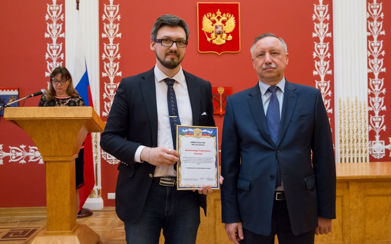 "Support of the President of the Russian Federation–to young researchers of ETU ""LETI"""