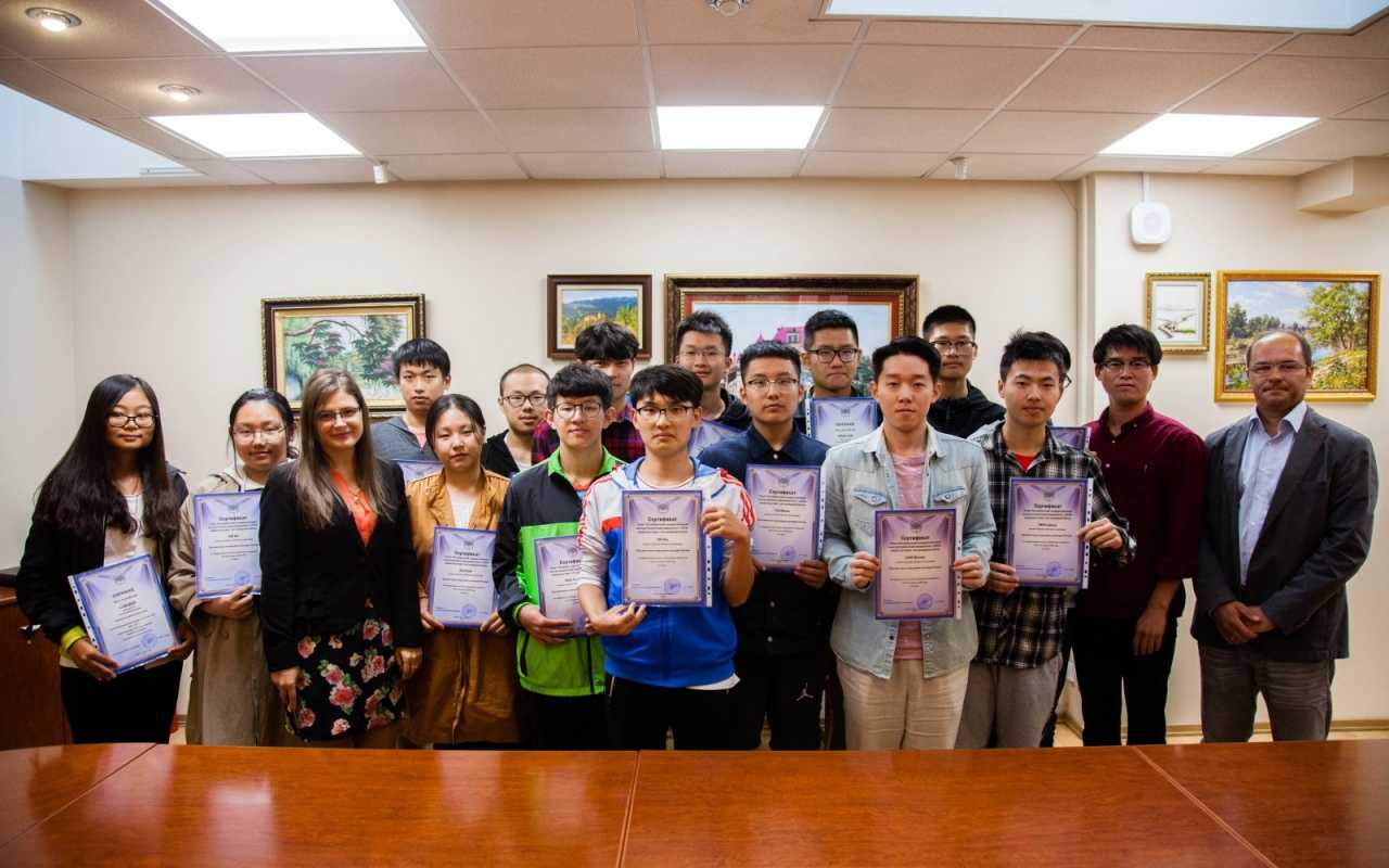 Students from Xuzhou: getting acquainted with the university and Russian culture