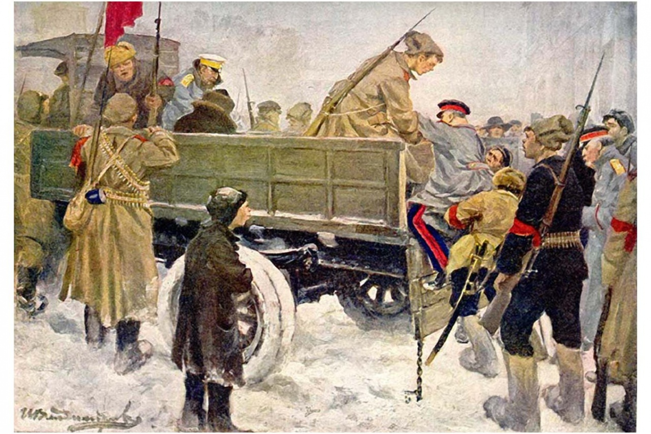 Vladimirov I.A. «Арест генералов (Arrest of Generals)»