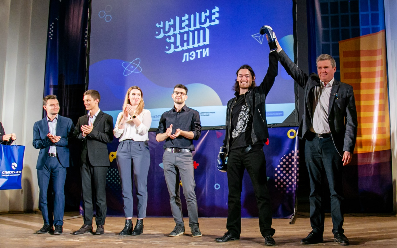 Science Slam LETI: Engineers and science win!