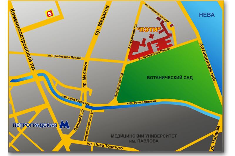 """197376, Санкт-Петербург, улица Профессора Попова, дом 5a (5-й корпус СПбГЭТУ  """"ЛЭТИ """")."""