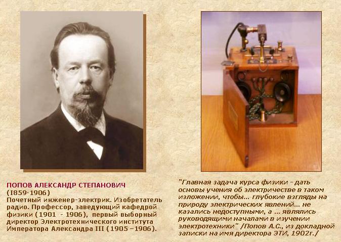 Попов презентации биография