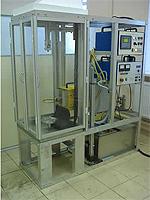 Установка ИЗВ-1-650 для поверхностной закалки ТВЧ цилиндрических и плоских поверхностей.
